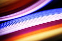 Rainbow colors papers (Christian Chene Tahiti) Tags: canon 6d arcenciel rainbow papier paper lamelle bandelette macro hardlight macrolens lumièrecrue polynésie jaune rouge orange bleu rose blanc tahiti paea bokeh