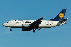 D-ABJH - Lufthansa - Boeing 737-530 (5B-DUS) Tags: dabjh lufthansa boeing 737530 737500 b735 dus eddl dusseldorf düsseldorf international airport aircraft airplane aviation flughafen flugzeug planespotting plane spotting