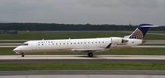 CRJ (Treflyn) Tags: mesa airlines united express bombardier crj700 crj cr7 n501mj washington dulles airport usa iad