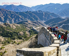 La grande muraille de Chine (louis.labbez) Tags: chine china labbez asie asia muraille mur wall montagne mountain hiver winter landscape paysage pierre stone badaling