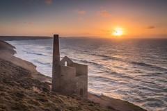 Wheal Coates Sunset (mqmquilter) Tags: coast coasts cornwall nationaltrust tinmines towanroath whealcoates