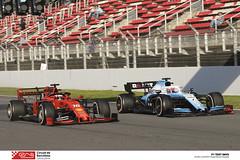 1902280647_leclerc_russell (Circuit de Barcelona-Catalunya) Tags: f1 formula1 automobilisme circuitdebarcelonacatalunya barcelona montmelo fia fea fca racc mercedes ferrari redbull tororosso mclaren williams pirelli hass racingpoint rodadeter catalunyaspain