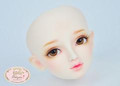 SD head (♥..Nomyens..♥) Tags: bjd balljointdoll toy doll custom faceup paint painting painted repaint handmade nomyens nomyenscom sd sddoll