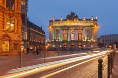 Lille (vanregemoorter) Tags: filés night longexposure city cityscape lille france light ville