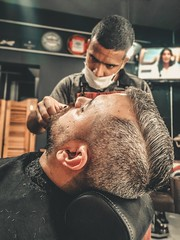 Traditional Haircut In Bay Area (raulanthonyprousa) Tags: traditional haircut bay area