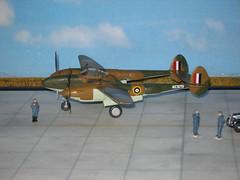 Lockheed P-322 Lightning I (modelldoc) Tags: plastickit 172 lockheed ligtning raf evaluation
