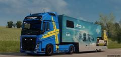 Volvo FH540 w/ FIA ETCR Trailer (Csabee') Tags: volvo fh 540 fia
