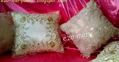 طريقة خياطة اجمل وسائد للعرائس سهلة غير مكلفة مشروع مصغر في البيت (ezo-handmade) Tags: اشغال يدوية الطرز و الخياطة جهاز عروس خياطة وسائد التصديرة sewing