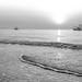 1980 Sunrise on Shrimp Boats