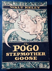 The Pogo Stepmother Goose by Walt Kelly 5635 (Brechtbug) Tags: pogo possum soft cover news strip cartoon books walt kelly vintage 1950s 50s 1960s 60s albert alligator churchy la femme turtle newspaper comic comics sunday funnies comicstrip opossum animal humor funny beast fable political satire witty southern okefenokee swamp critters south compilation collection alarm scare scared animation character posted 2019
