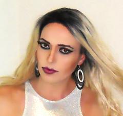 Happy 2019 Everyone! (queen.catch) Tags: dragqueen catchqueen youtuber crossdressing wig makeup glam dragmakeup sissy transvestite tranny shemale earrings eyeliner eyelashes werk beautyboy