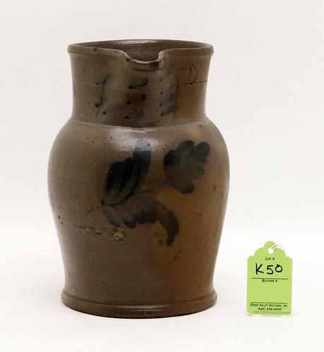 Maryland region Stoneware 1 Gallon pitcher ($246.40)