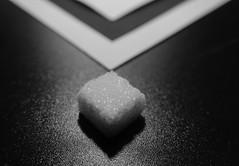 Sugar minimalism (7 Blue Nights) Tags: minimalism sugar blackandwhite bw