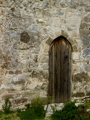 Church Lysos (Jonathon Bennett Photos) Tags: church door greekauthodoxchurch stone architecture wood antique