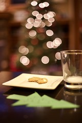 christmas day (arvin1975) Tags: christmas tree cookie santa bokeh