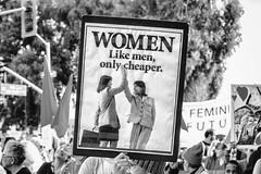 Women's March Oakland 2019 (Thomas Hawk) Tags: america bayarea eastbay oakland sfbayarea us usa unitedstates unitedstatesofamerica westcoast womensmarch womensmarch2019 womenswave women'smarchoakland women'smarchoakland2019 bw demonstration politics protest california fav10