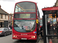 One of the shorter Croydon routes still using first-gen Eclipse units. | Arriva South London Wright Gemini 1 Eclipse on the 264 to Croydon Town Centre. (alexpeak24) Tags: dw101 croydontowncentre tootingstgeorge'shospital 264 wrighteclipsegemini southlondon arriva