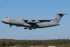 C-5A Galaxy at Ramstein (lha-spotter.de) Tags: lockheed c5a galaxy c5 ramstein air base 690006 usaf us force lackland 433d airlift wing etar general electric tf39 afrc