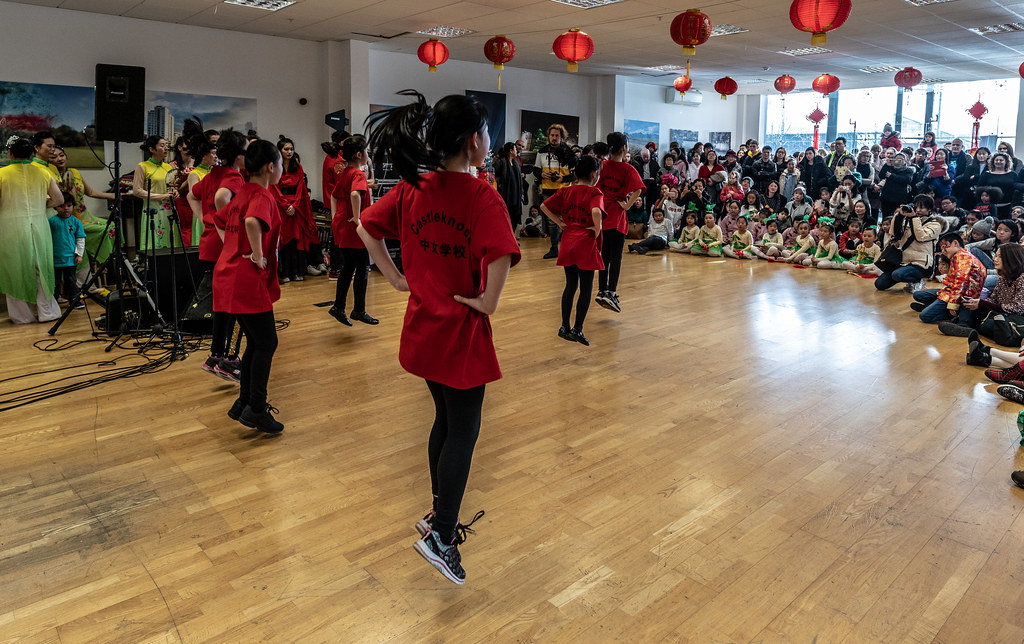 YEAR OF THE PIG - LUNAR NEW YEAR CELEBRATION AT THE CHQ IN DUBLIN [OFTEN REFERRED TO AS CHINESE NEW YEAR]-148938