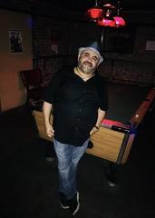 IMG_E8230 (danimaniacs) Tags: guy man mansolo smile beard scruff hat cap