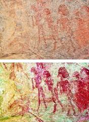 8972 - EKUTA (HerryB) Tags: 2013 southafrica southwest afrique afrika africa namibia südwest sonyalpha77 slr heribertbechen tamron alpha bechen fotos photos photography sony herryb rockart rockpaintings peintres rupestres petroglyph san zeichnungen felszeichnungen höhlenmalerei paintings bushmen buschmänner dstretch harman jon jonharman enhance falschfarben restauration digitalenhanced enhancement verwitterung granit granite enhanced ekuta abri halbhöhle überhang aiaiba hinterholzer erongo erongogebirge