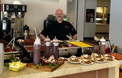 (cafe_services_inc) Tags: guestchef cafeservices corporatedining bbq citypoint chefpaul