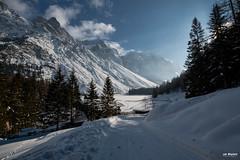 Winter sunshine (Piotr Grodzicki) Tags: alps mountains austria sunshine winter