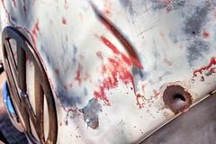 Warning shot??? (Ian Ramsay Photographics) Tags: warningshot manly newsouthwales australia manlykombirally conversationstarter bullethole ventured fired shot range varied vw volkswagen vehicle transport