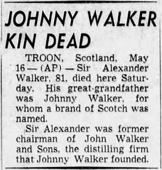 Johnny Walker / Johnnie Walker (Nathaniel Hebert) Tags: johnny walker johnnie mandela effect name change adverts whisky scotch