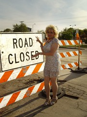 I Think That's Just A Suggestion :) (Laurette Victoria) Tags: blonde dress sandals laurette woman milwaukee