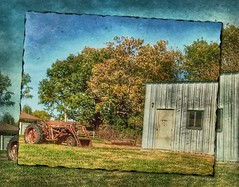 An old friend.... (Sherrianne100) Tags: farm tractor rural missouri