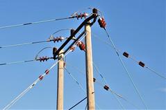 Power To The People (standhisround) Tags: powerline htt telegraphtuesday aylesbury buckinghamshire england uk poles electricity