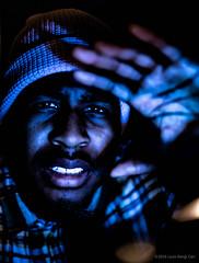 Creating (kengikat40) Tags: mylifethroughmylens infrontoflouisslens creating photographer portrait portraits blackmen blackmale light lighting abstract abstractphotography photography creative model black men man