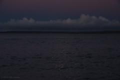 3KB11994a_C_2019-01-19 (Kernowfile) Tags: pentax cornwall cornish moonlight moon stives sea bay water sparkle sky cloud twilight dusk dark coast hills cliffs
