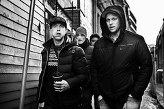 DSCF6660 (yann CM B) Tags: streetphotography blackandwhite oslo norway winter people candid fujixt20 fuji fixlens 35mm 50mm