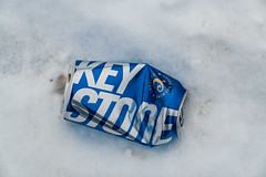 Keystone (Coors Brewing) Beer Can (Tony Webster) Tags: coors keystone minnesota tonywebster aluminumcan beer beercan brew brewing can snow winter silverbay unitedstatesofamerica us