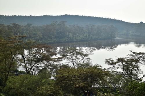 Crater lake by Naivasha