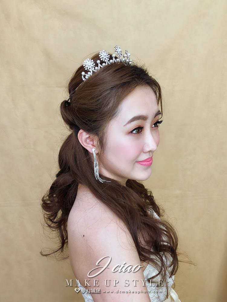 【新秘婕喬】新娘造型創作 / 甜美小公主