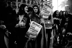 General Strike (TransientEye) Tags: barcelona independence nationalism catalunya catalonia protest leicam10 leica35mmsummiluxasph