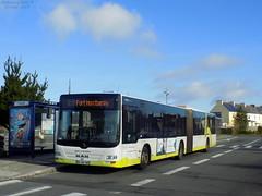 Man Lion's City G n°165 (ChristopherSNCF56) Tags: bus transport urbains brest bibus man lions city 165 articulé