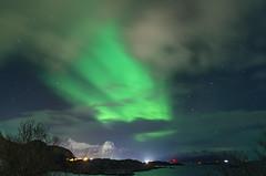 Aurore boréale_1 (Valentin d'Ersu) Tags: scandinavie scandinavia winter lofoten isles island îles norvège aurore boréale northern lights hiver