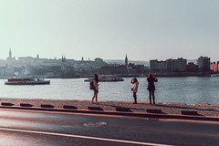 (Mathosse) Tags: budapest street golden hour nikon girls silhouette silouhette sunset light