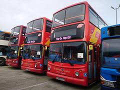 Stagecoach MCSL 17470 Y531 NHK, 17502 LX51 FNE & 17479 LX51 FNR (buses7675!) Tags: stagecoachmcsl dennistrident2 alexanderalx400