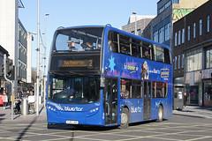 Bluestar 1567 HJ63 JNZ (johnmorris13) Tags: bluestar 1567 hj63jnz alexanderdennis enviro400 bus