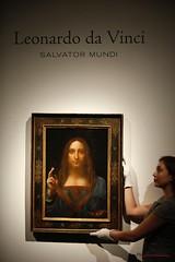 Leonardo Da Vinci (markjaspers) Tags: leonardo da vincis salvator mundi art portrait christies paintings artist general views work auction king street exhibition barnet unitedkingdom