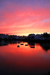 Late evening El Charco (Hilltopender) Tags: sunset pinksky elcharco areciffe lanzarote