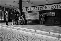 DR151004_1636D (dmitryzhkov) Tags: urban city everyday public place outdoor life human social stranger documentary photojournalism candid street dmitryryzhkov moscow russia streetphotography people man mankind humanity bw blackandwhite monochrome