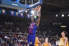 DSC_0308 (VAVEL España (www.vavel.com)) Tags: fcb barcelona barça basket baloncesto canasta palau blaugrana euroliga granca amarillo azulgrana canarias culé