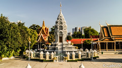Stupa at Royal Palace of Cambodia