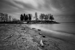 """Scarborough Bluffs (ocarmona) Tags: scarborough nature """"longexposure"""" 'blackandwhite' water bluffs canon 6d ef 1740 nd1000"""